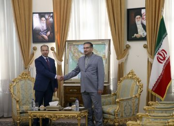 Tehran Has Top Place in Iraq's Foreign Policy