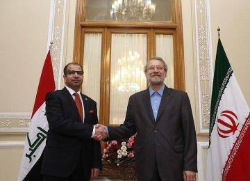 Iraqi, Iranian Speakers Confer
