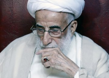 Ayatollah Jannati Elected  Head of Experts Assembly