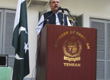Pak Envoy: Tehran Ties Growing Stronger