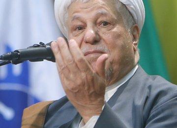 Rafsanjani Praises Improved Int'l Ties
