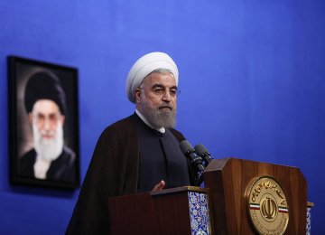 Rouhani: National Interest Best Served by JCPOA