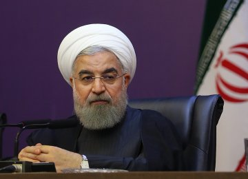 Rouhani Outlines Gov't Priorities