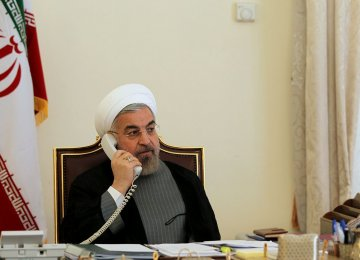 Rouhani Hails Return of Stability to Turkey