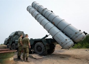 First S-300 Missiles Delivered