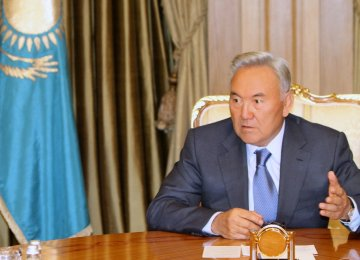 Kazakh Leader Supports Iran's SCO Entry