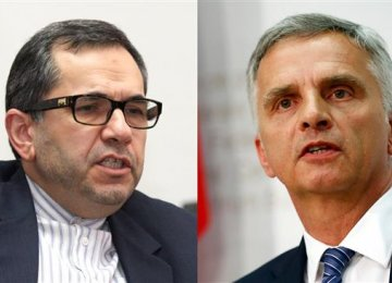 Deputy FM Holds Sanctions Talks in Bern
