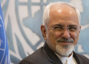 Zarif Attends Syria Peace Talks in Vienna