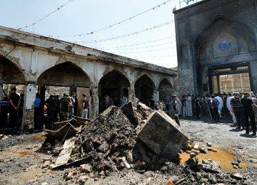 Terror Attack in Iraq Denounced