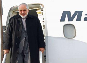 Zarif Heads to Havana