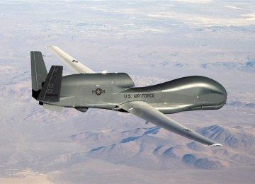 US Spy Drone Detected, Shooed Away