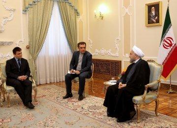 Private Sectors Key to Promoting Tehran-Kiev Ties