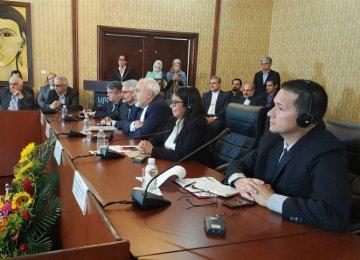 Zarif Supports Good Rapport With Venezuela