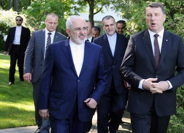 Zarif Returns From 4-Country European Tour