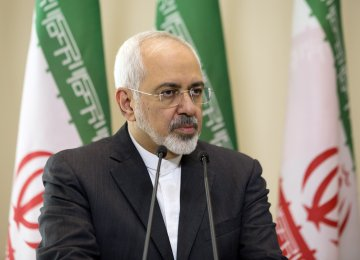 Zarif Says Terror Must Be Degraded, Defeated