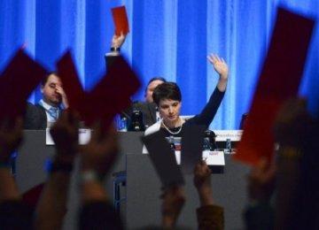 "AfD Manifesto Criticized as ""Unconstitutional"""