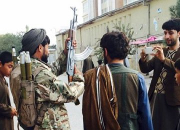 Afghan Taliban Capture Key District in Kunduz