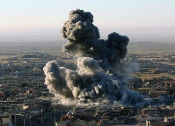 Airstrikes Hit IS Stronghold in Syria