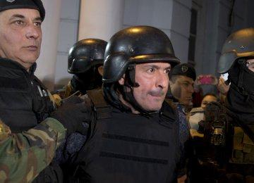Argentina Ex-Official Arrested