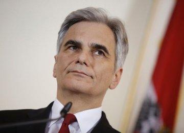 Austrian Chancellor Quits