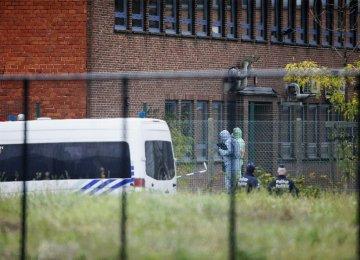 5 Held Over Blast at Brussels Crime Lab