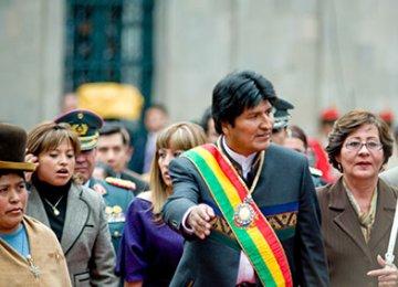 Bolivia Says Chile Base Poses Threat