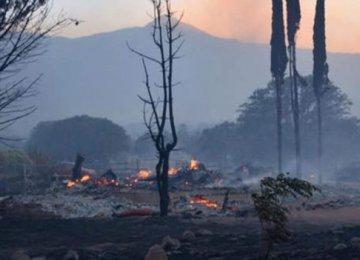 Hundreds Flee California Wildfires