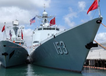 China Conducts Naval Drills in Sea of Japan