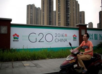 China Wants Successful G20 Summit, But Suspects Western Agenda