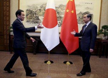 China, Japan FMs Meet to Smooth Tense Ties