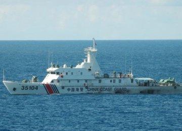 Chinese Fleet Sails Near Japan's  Senkaku Islands
