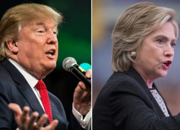 Clinton Hits Back at Trump's IS Accusation