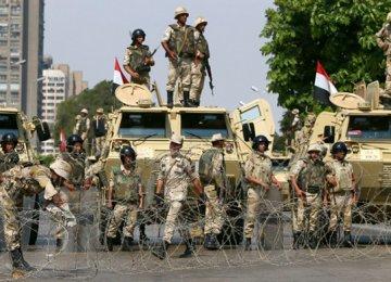Deadly Gun Assault on Egyptian Police