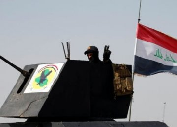 Iraqi Army Makes Gains in Fallujah Against IS