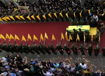 Thousands Mourn Hezbollah Commander in Beirut