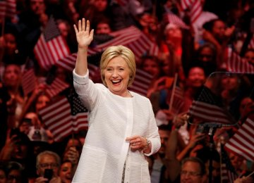 Hillary Clinton Declares Victory in Democratic Race
