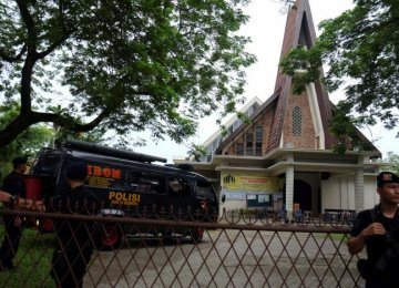 Suspected Terror Attack in Indonesian Church