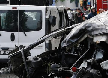 3 Suspects Jailed Over Istanbul Car Bombing