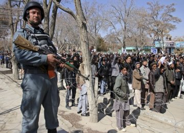 Kabul Locked Down as Authorities Face Protest