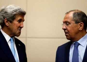 Kerry Presses on With Russian Talks on Syria