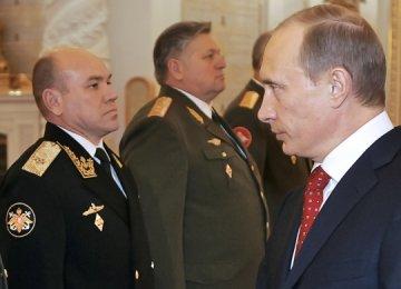 Kremlin Purges Underperforming  Baltic Fleet Commanders