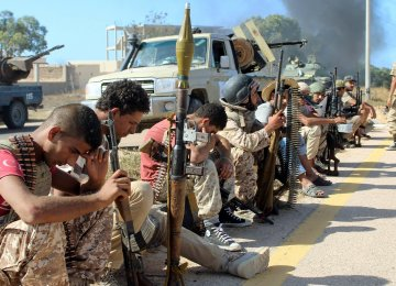 Libyan Forces Claim Port in IS Stronghold of Sirte