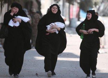 Manbij Residents Celebrate End of IS Rule