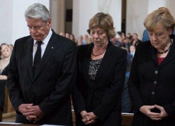 German Leaders Honor Munich Massacre Victims
