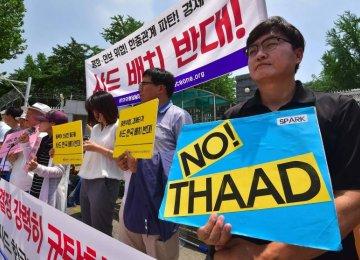 North Korea Threatens Response to Anti-Missile System