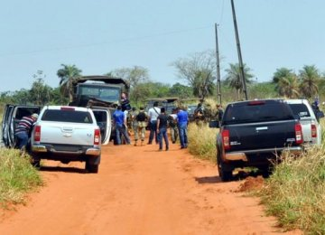 Rebels Kill  8 Soldiers  in Paraguay