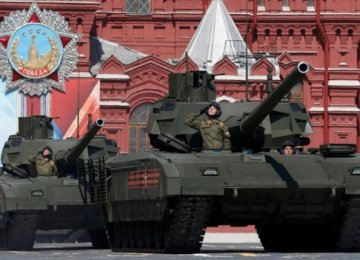 Russian Parade Showcases New Weapons