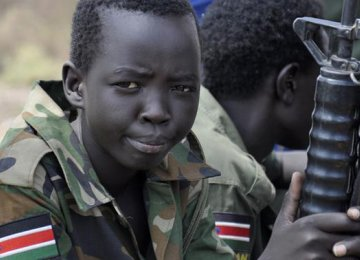 South Sudan Recruiting Child Soldiers Again