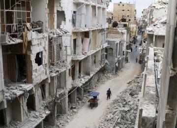 Syria Extends Ceasefire Despite  Heavy Fighting in Aleppo