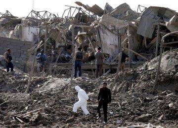 Taliban Claim Kabul Truck Bomb Blast